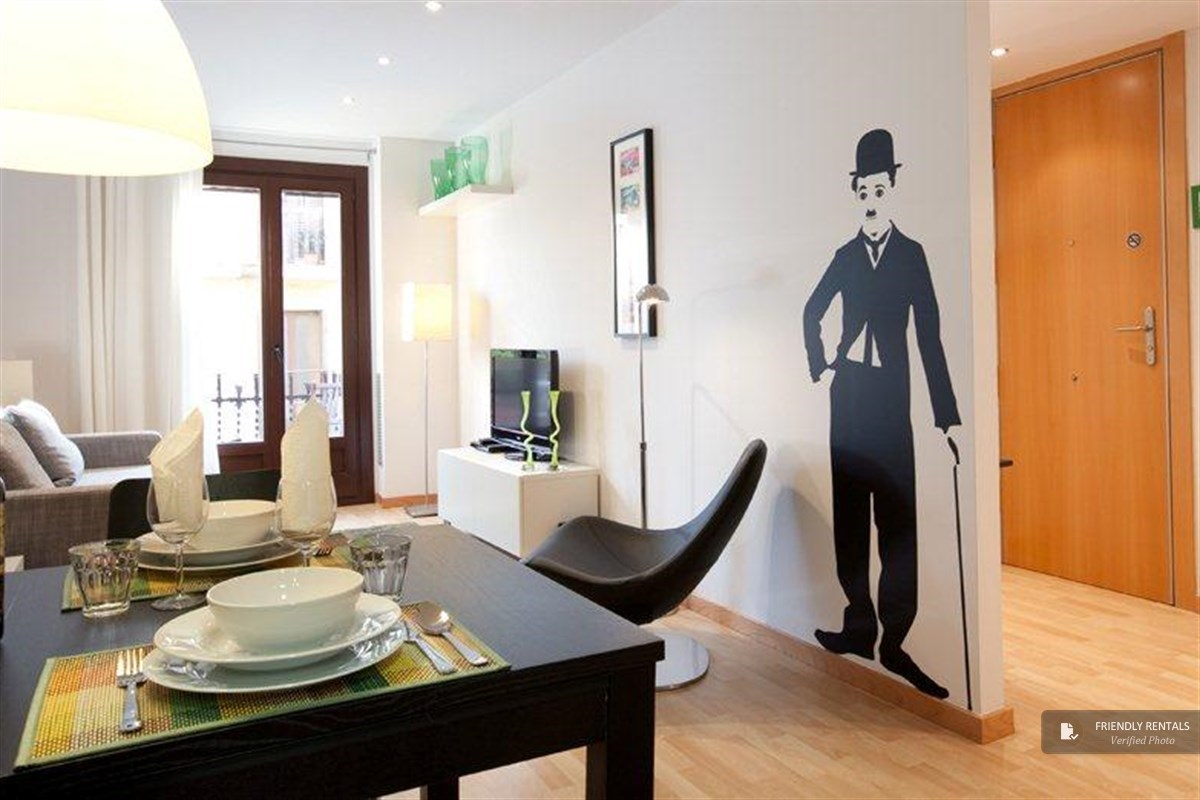 The Montjuic Park II Apartment in Barcelona