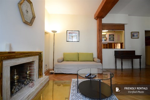 Das Ile Saint louis Charm Apartment