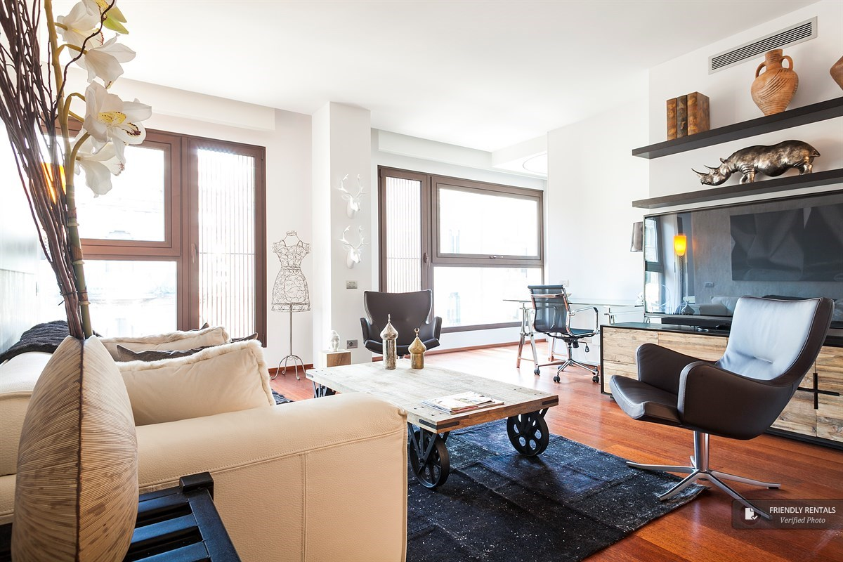 the continental apartment in barcelona, designer apartment in