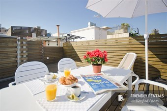 Het Style Terrace Red appartement