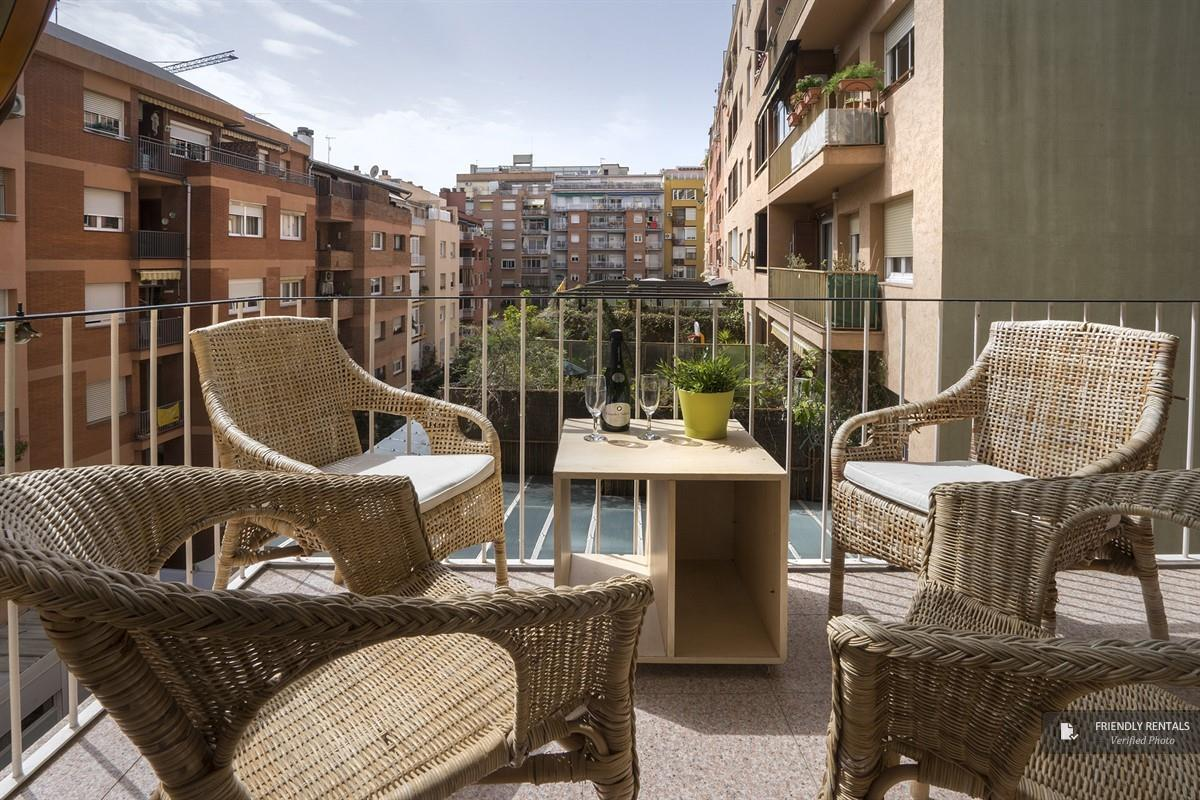 The Living Gracia apartment in Barcelona