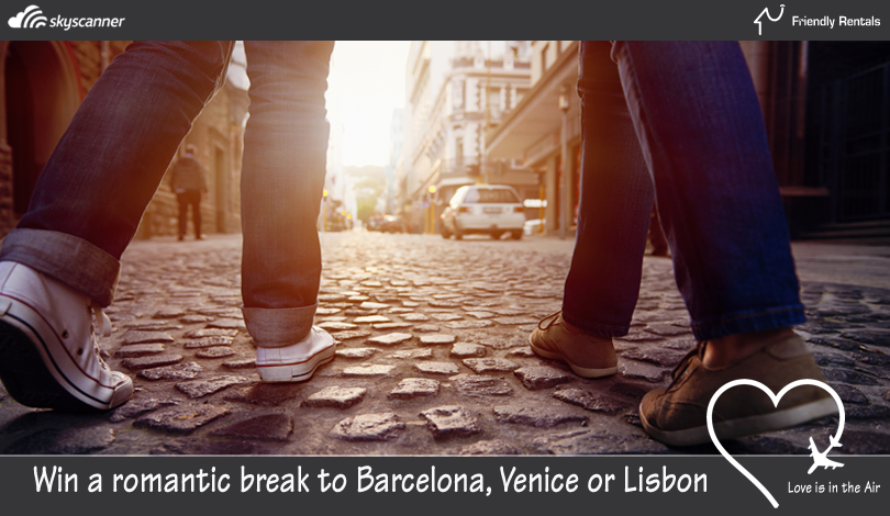 Competition Win a Free trip to Barcelona, Venice or Lisbon