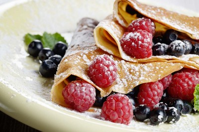 pastries from Frances: crepes