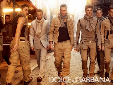Milán Fashion Label: Dolce & Gabbana