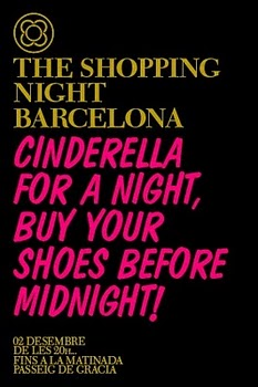 Barcelona Fashion White Night until midnight on the 2nd of December