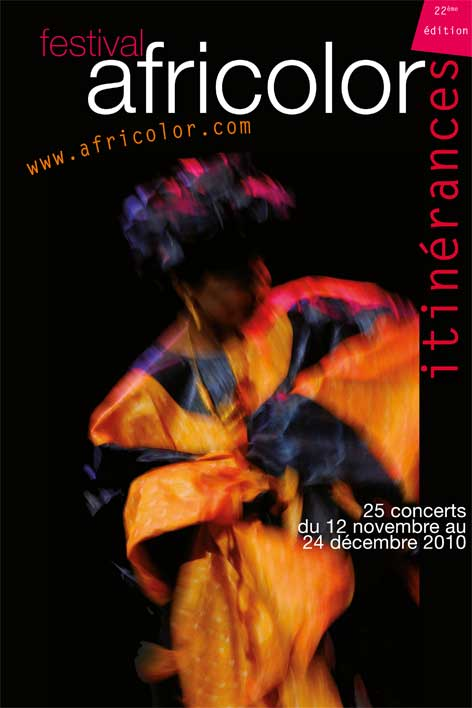 Africolor urban music festival in Paris