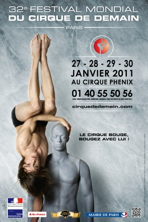 International Circus Festival of Tomorrow in Paris