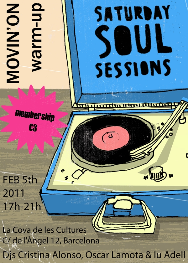 Soul en estado puro en Barcelona este 2011 gracias a las fiestas Movin' on y Saturday Soul Sessions