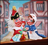 Convent Garden May Fayre and Puppet Festival in London this spring, some traditional British fun!