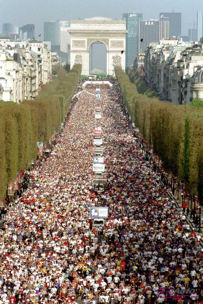 Paris International Marathon, one of the most picturesque runs in the world