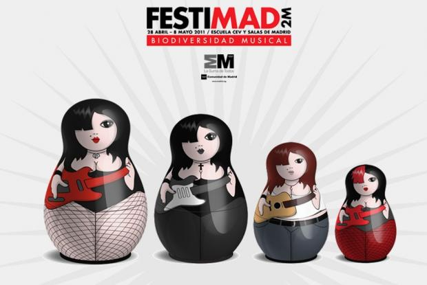 Festimad 2M, Madrid's biggest rock festival to take place this April