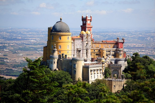 Sintra, a little tourist treasure in Portugal