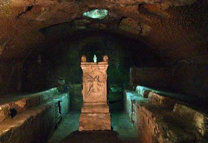 Underground Rome and the catacombs