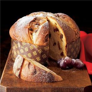 Panettone and Torrone, typical Christmas sweet treats in Milan