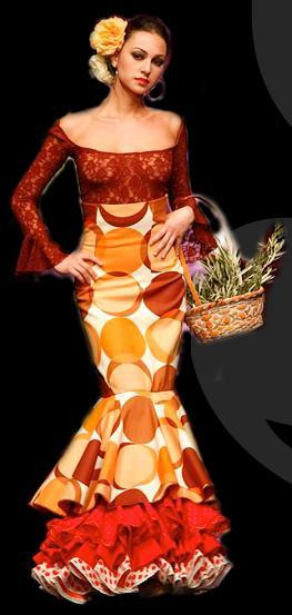 18th edition of the Seville International Flamenco Fashion Show 2012