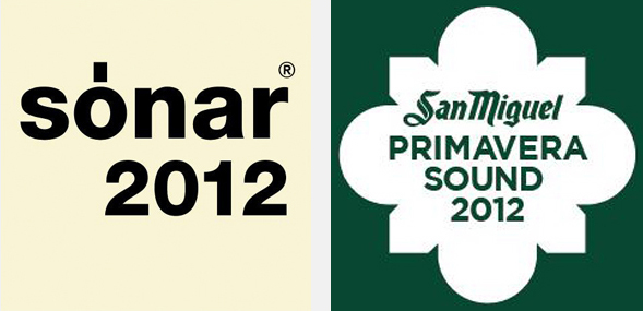 A sneak preview of the Primavera Sound 2012 and Sónar 2012 line up