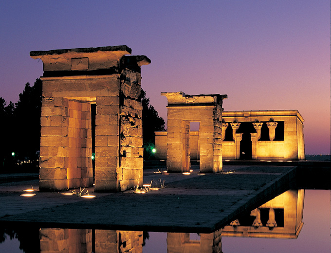 The Temple of Debod, a piece of Egypt in Madrid
