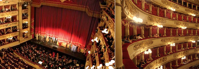 Opera in Teatro Alla Scala in Milaan