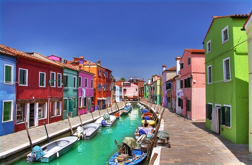 A trip to the islands of Venice