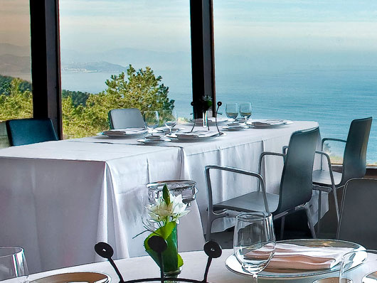 Famous restaurants in San Sebastian