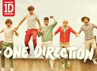 One Direction tourt door Europa in 2013