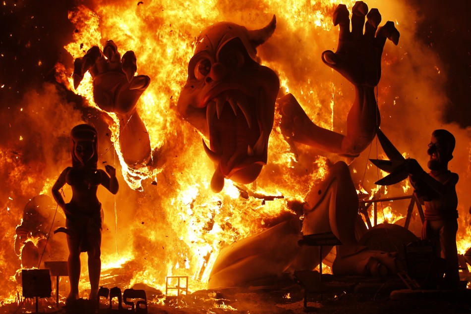 Valencia Fallas 2014: An Explosive Mix