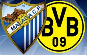 Malaga v Borussia Dortmund: Champions League Quarter Final 2013