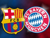 Champions League Semi-Final 2013 Barca v Bayern