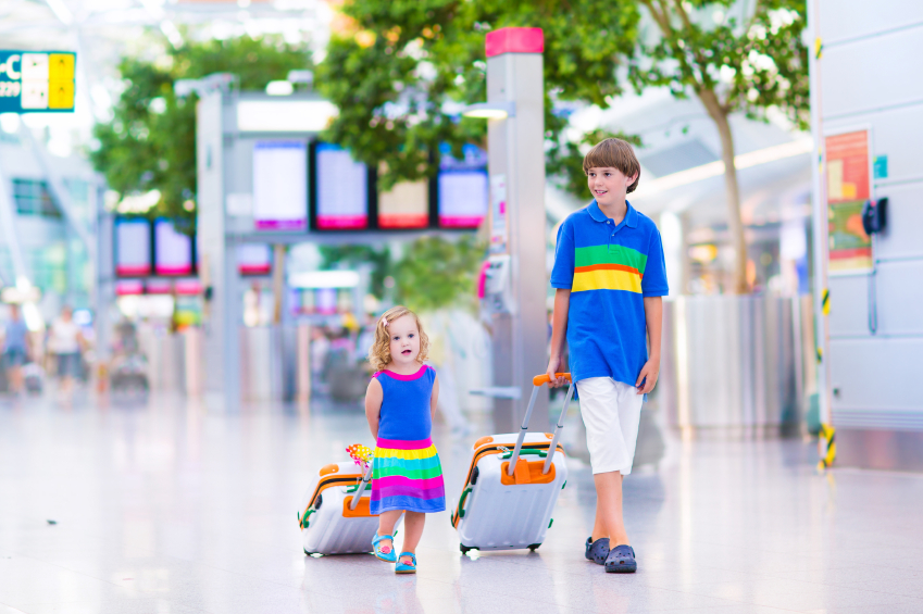 Things to think about with luggage for kids