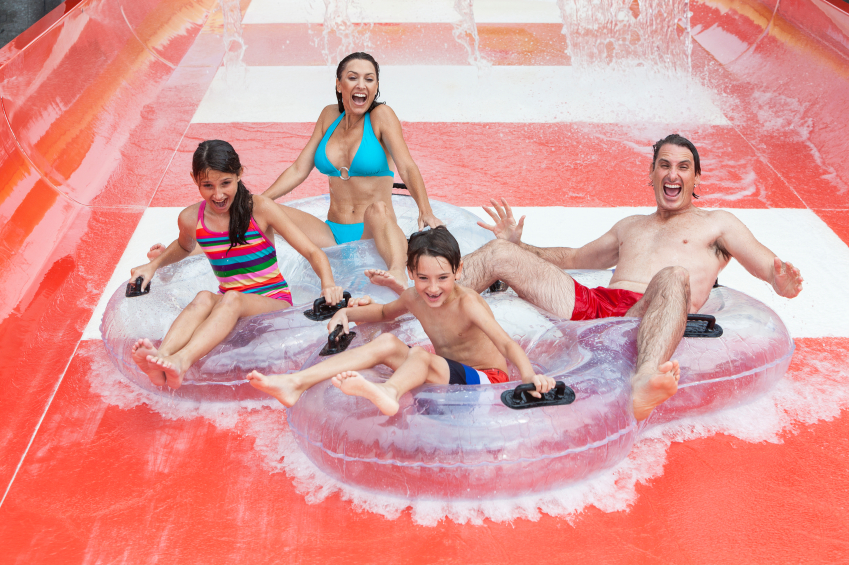 Have a great family day out at the Aquapolis Water Park, Salou