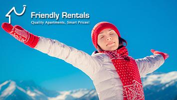Winteractie bij Friendly Rentals