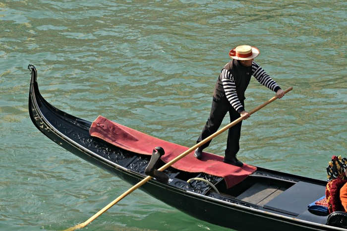 Gondolier for a day in Venice