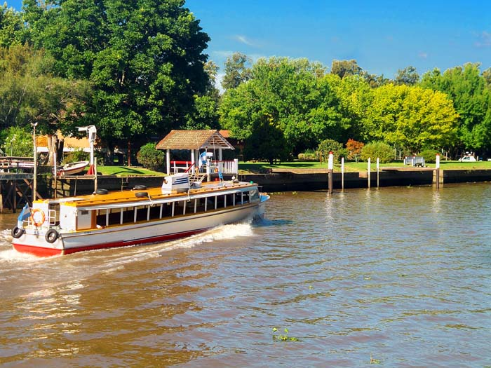 Boat Trip from Buenos Aires to Tigre