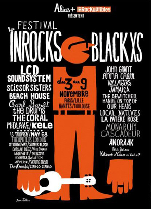 Les Inrocks Black XS 2010: Alternative music festival held in Paris this autumn