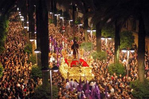 easter processions in Malaga