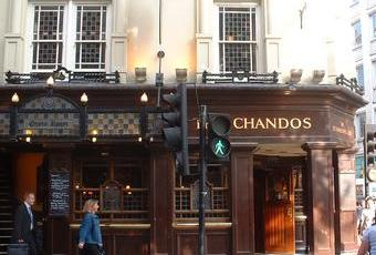 A typical pub in London