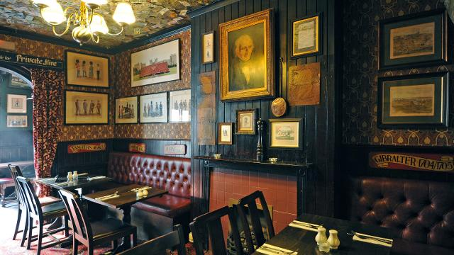 The Grenadier pub in London