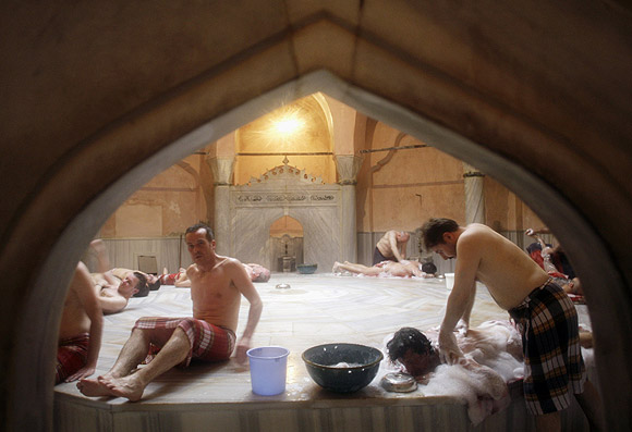 Experience a hamam in Istanbul