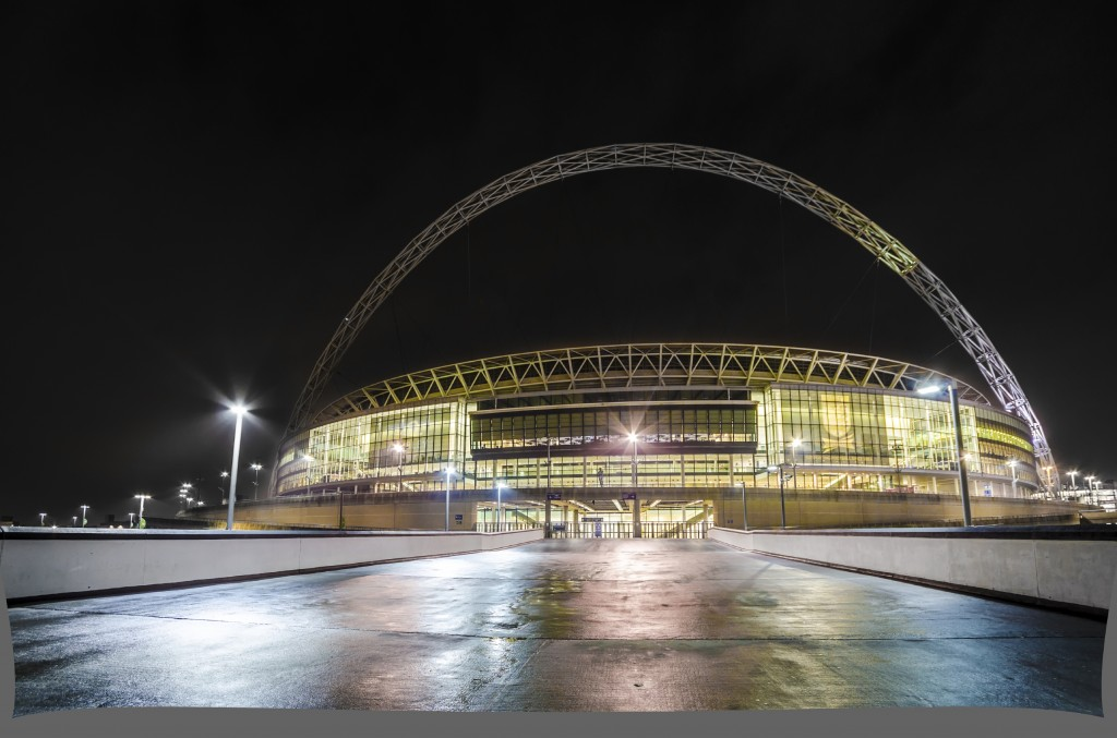 The Wembley Stadium family enclosure is great for kids.