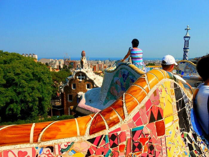Mirador Park Guell Barcelona