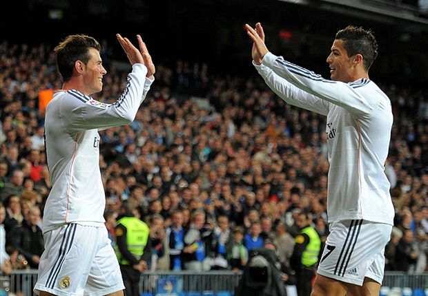 Ronaldo and Bale Real Madrid