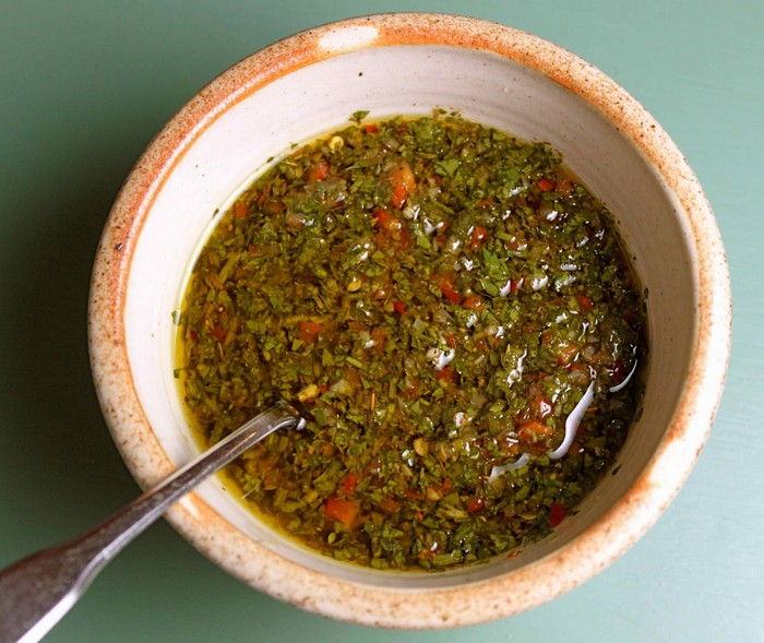 what to eat in buenos airs chimichurrri