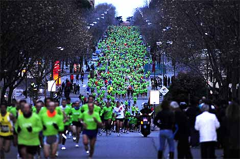 New Year's Race in Madrid: San Silvestre Vallecana