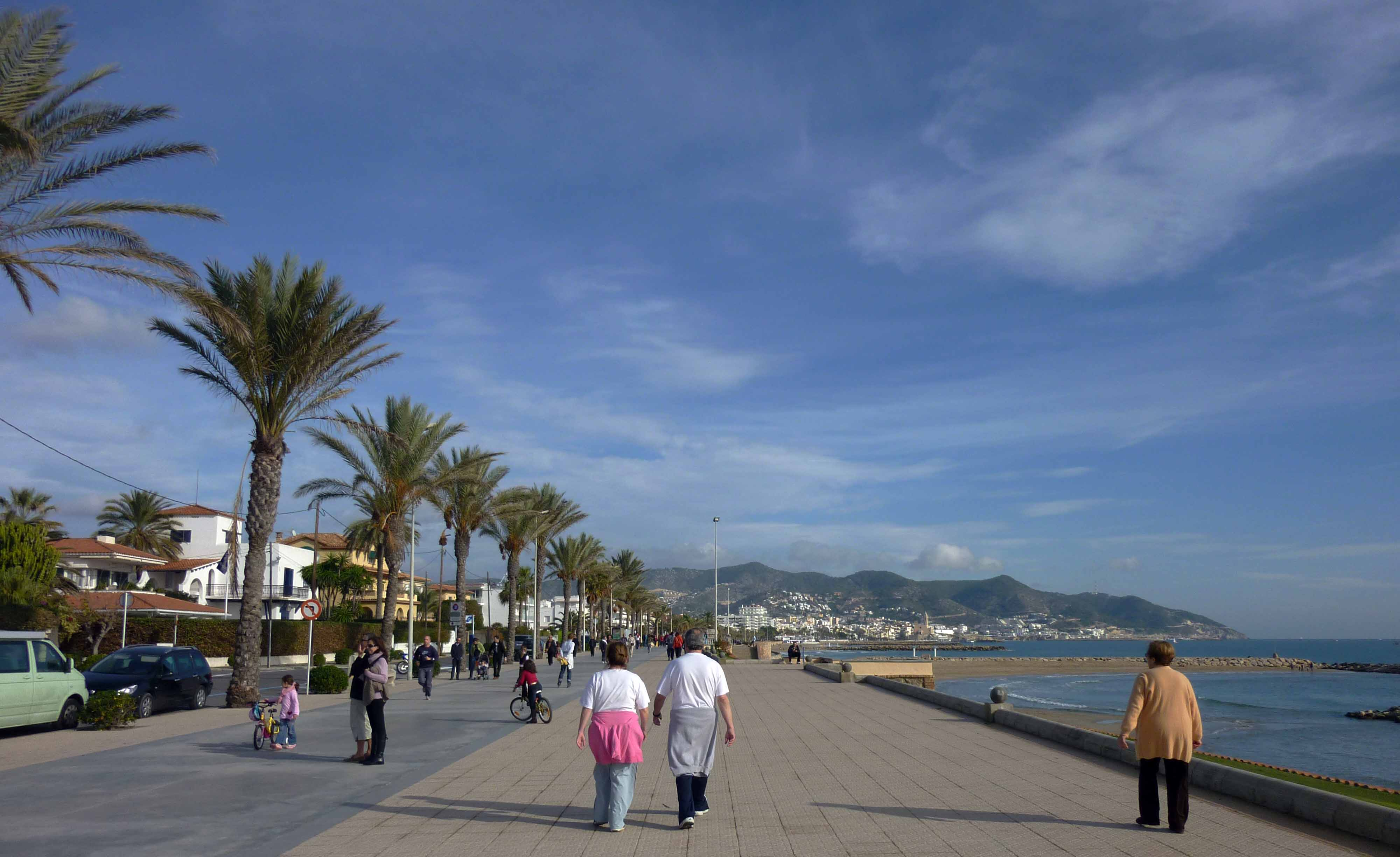 Sitges in Winter