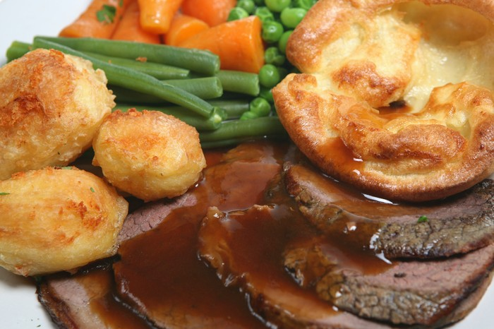 Sunday Roast, british food