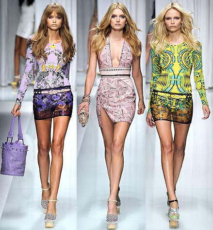 Milan Fashion Label: Versace