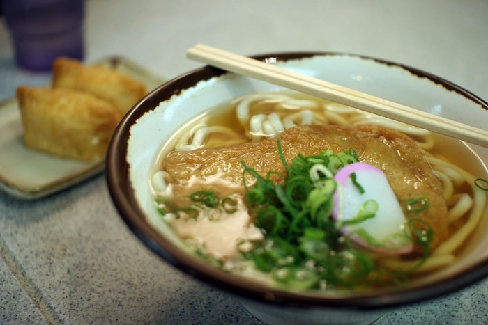 what to eat in osaka: udon