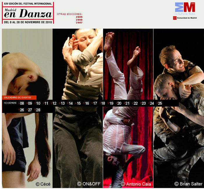 Madrid in Danza 2010: Dance Festival taking place in Madrid
