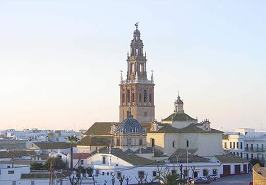 Carmona town, in the province of Seville