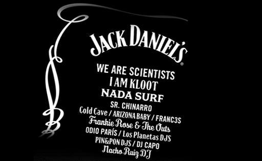 The best music with Jack Daniel's Music  Day in Barcelona on April 9th, 2011